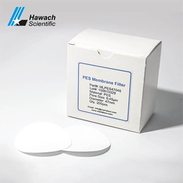 Filtros de membrana PES 0.22 y 0.45