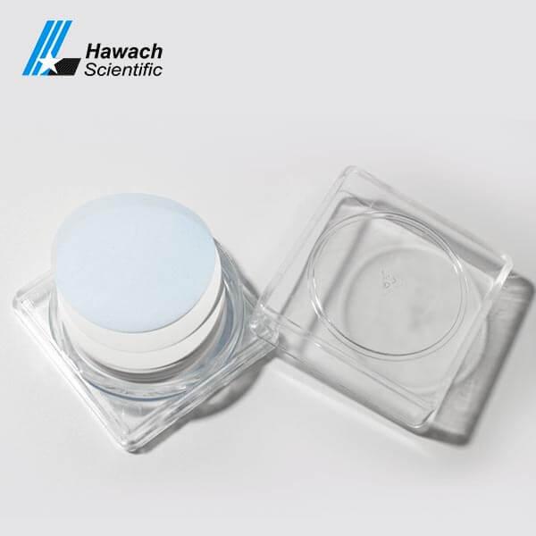0,22 Filtros de membrana de acetato de celulosa