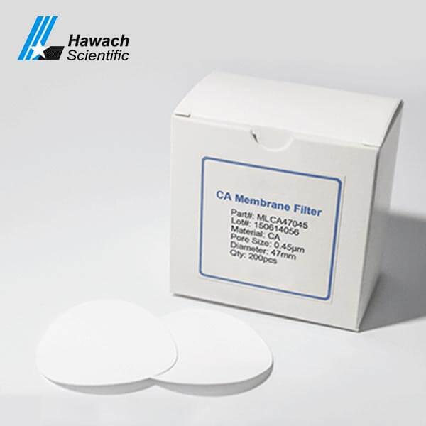 0,45 Filtros de membrana de acetato de celulosa