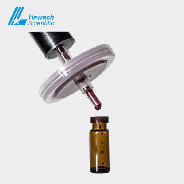 Filtros de jeringa estériles 0.45 MCE