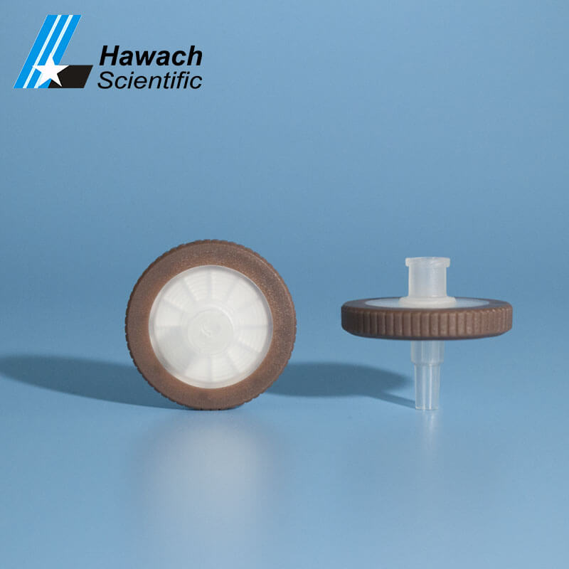 0,45 filtros de jeringa de PVDF hidrofilico serie Winstar