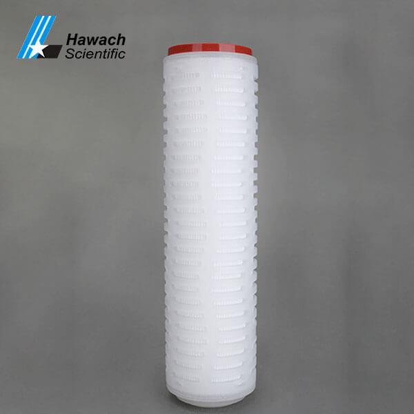 Cartuchos de filtro plisado de membrana PTFE de 10 pulgadas
