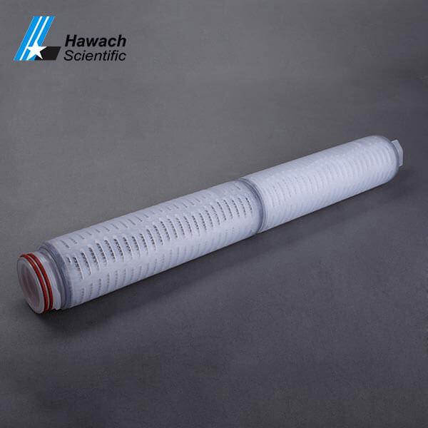 Cartucho de filtro plisado de fibra de carbono micro activo de 20 pulgadas