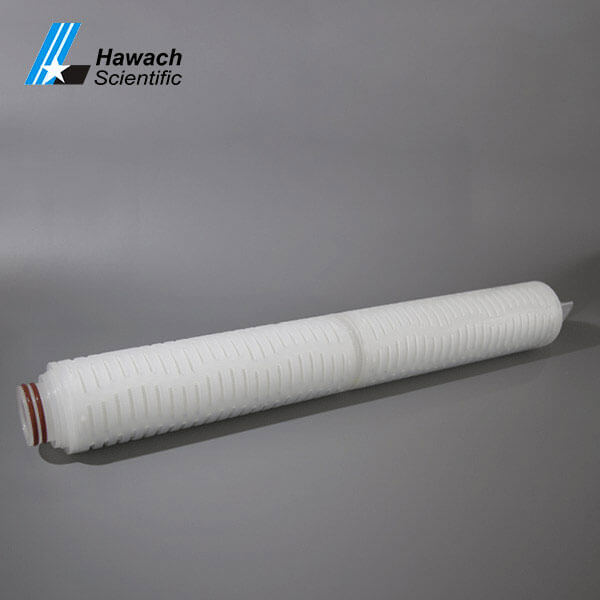 Cartuchos de filtro plisados de membrana PP de 20 pulgadass