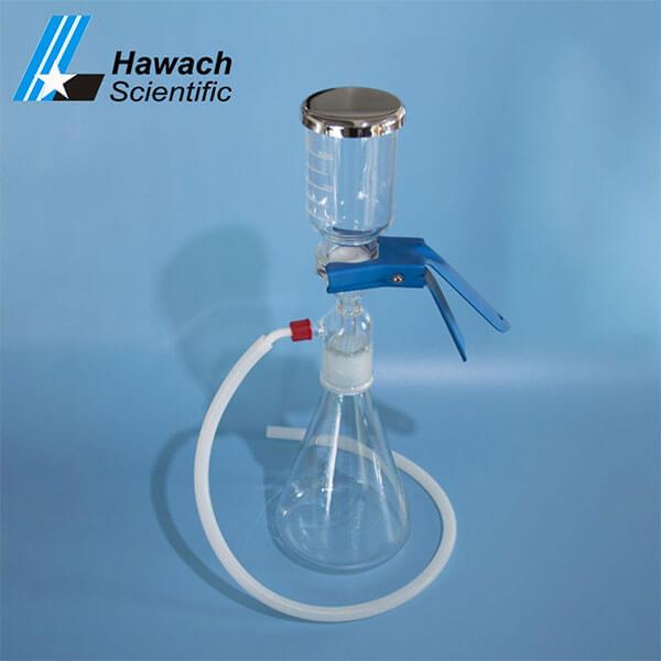 Filtro de solvente de vidrio 300ml