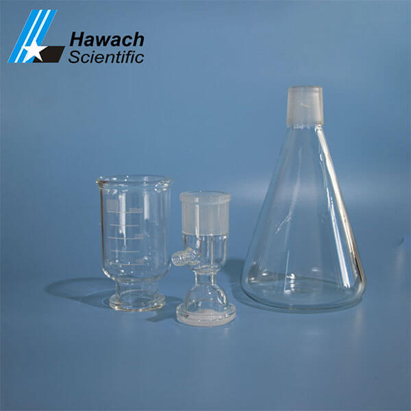 Proveedor de filtros de solvente de vidrio de 500 ml