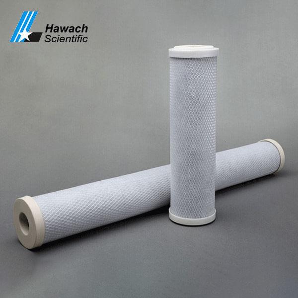 cartuchos de filtro de bloque de carbón activo
