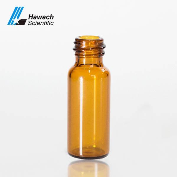 Viales de muestra de rosca de tornillo de color ámbar para HPLC