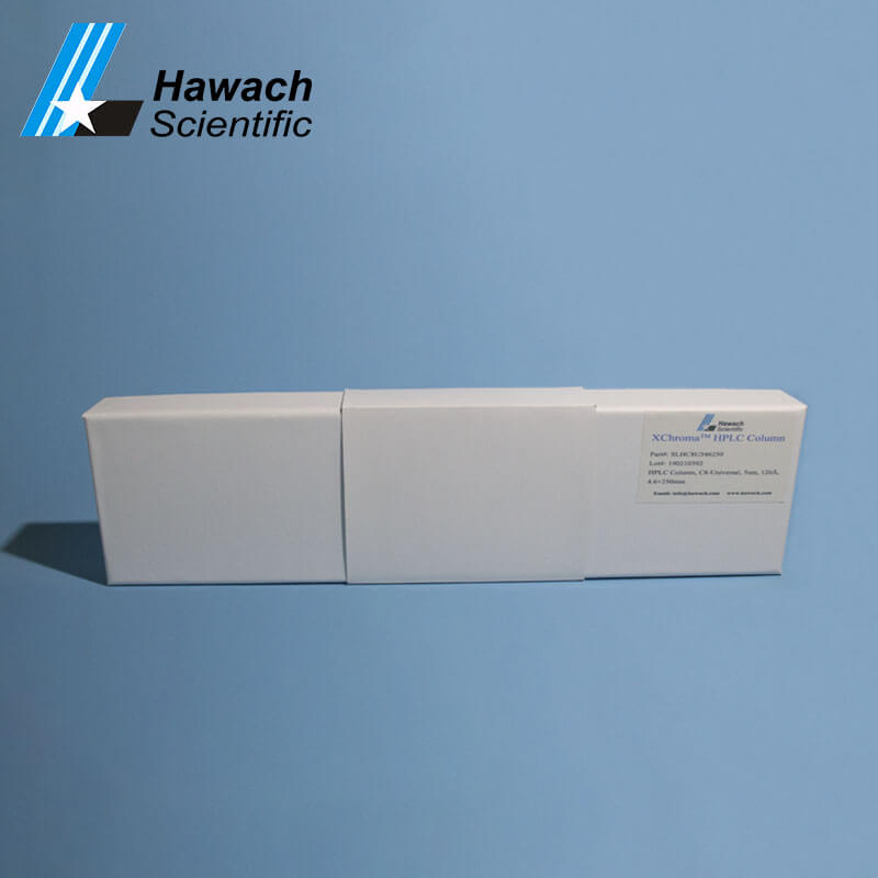 Columna de HPLC c1 para uso de análisis