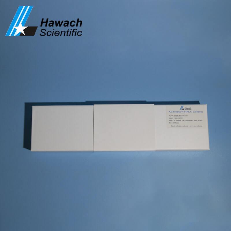 Columnas de flúor HPLC c8 para laboratorio