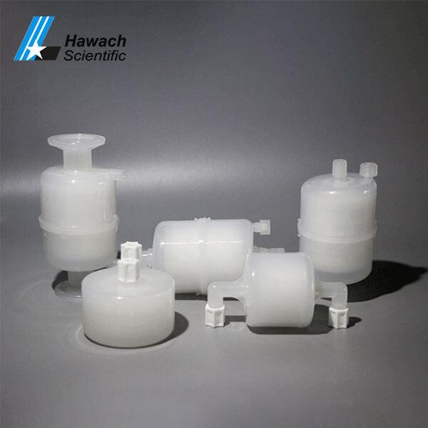 cápsulas de filtro