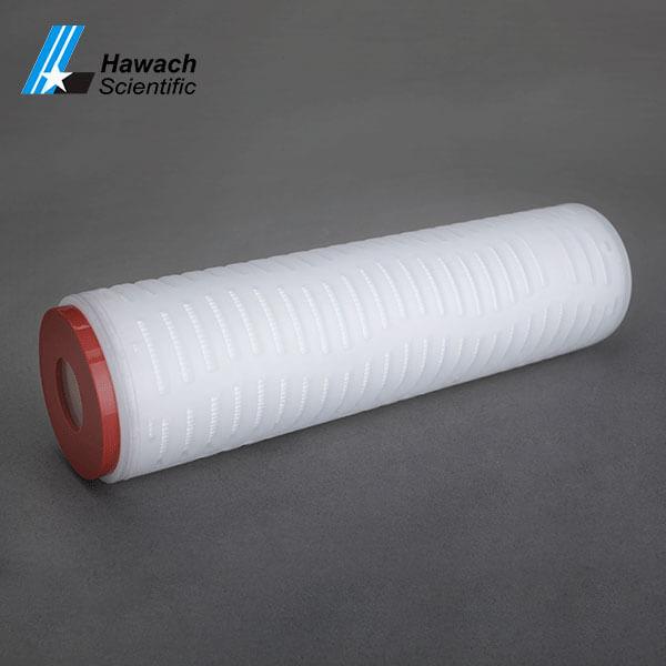 Cartucho de filtro plisado de fibra de vidrio micro