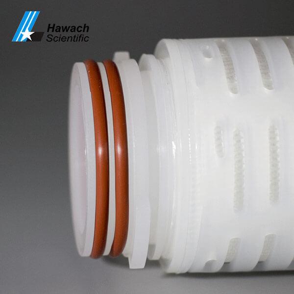 Cartuchos de filtro plisados de membrana PTFE
